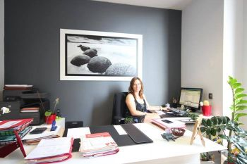 Esther of Marti Assessors in the Jalon Office of Jacaranda Spain