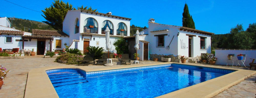 For sale: 4 bedroom finca in Lliber, Costa Blanca