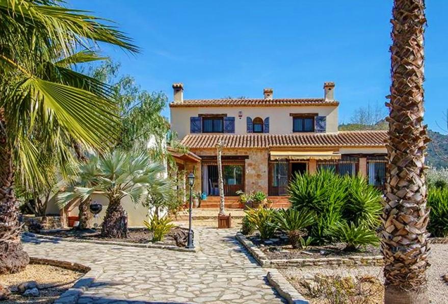 For sale: 5 bedroom finca in Murla, Costa Blanca