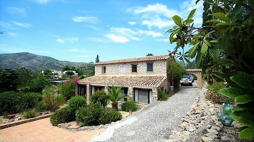 5 bedroom finca for sale in Lliber, Costa Blanca